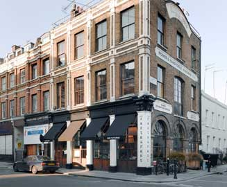 Frontline Club exterior, 13 Norfolk Place