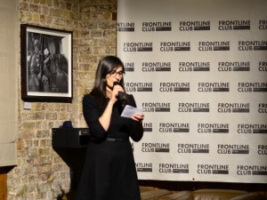 Between the Lines Launch, the Frontline Club