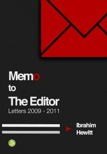 MEMO to the editor - Final Front Cover