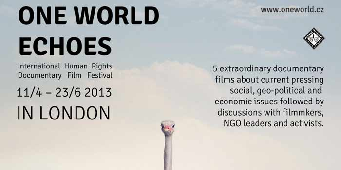 One World Echoes London Banner