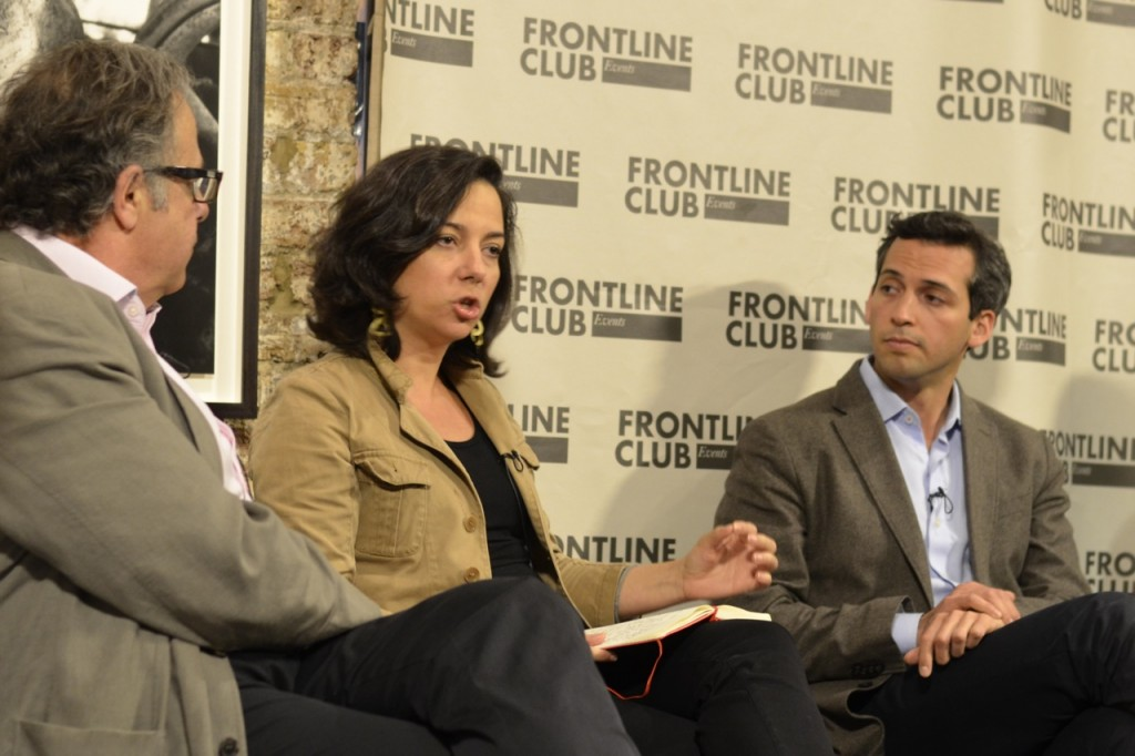 Kim Ghattas and Nick Schifrin in conversation.