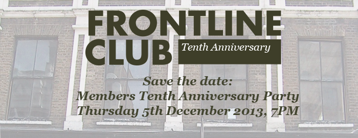 tenth anniversary save the date