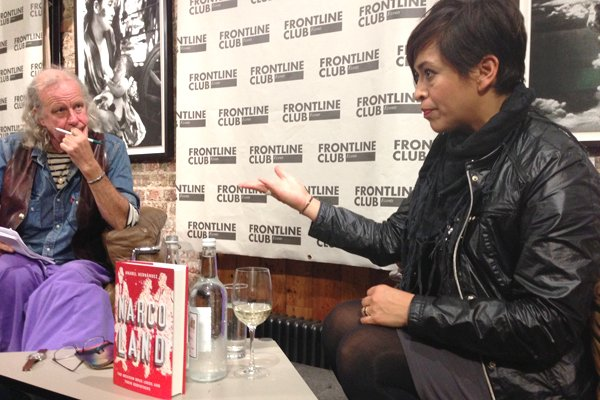 Anabel Hernández in conversation with Ed Vulliamy
