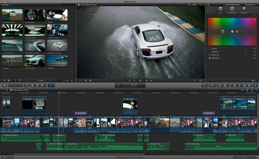 Two-Day Workshop: Introduction to Editing with Final Cut Pro X