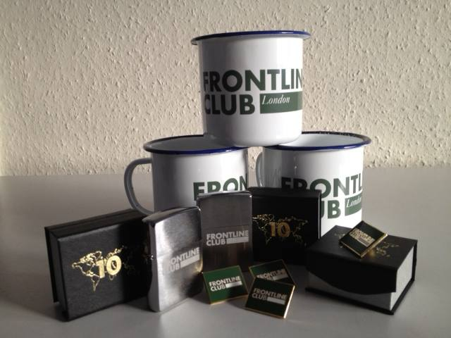 Frontline Club merch