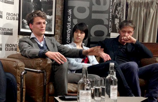 Dan Knowles, Nicola Hughes and Michael Blastland discuss data journalism at the Frontline Club