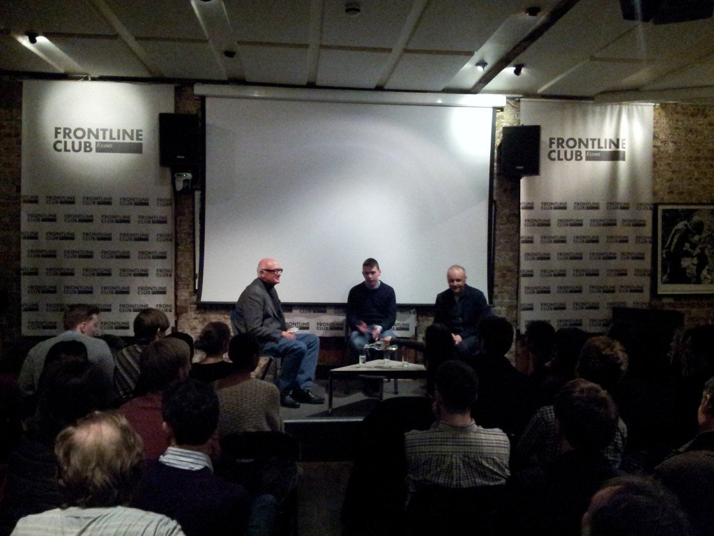 Frontline Club panel; Coach Zoran and his Africa Tigers