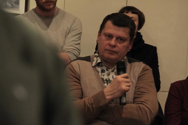 Project participant Valery Molozov