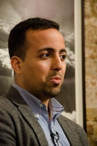 BBC journalist Mohamed Madi, who chaired the debate. Photo by Richard Nield