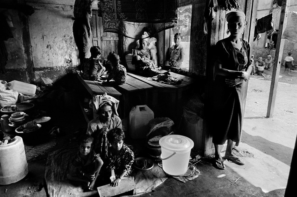 The Rohingya are a Muslim minority from Myanmar.  Up to one million Rohingya have been stateless for decades.  Over 140,000 Rohingya in Myanmar were displaced from their homes during ethnic violence in 2012 and have been forced to live in internment camps. (2012)
