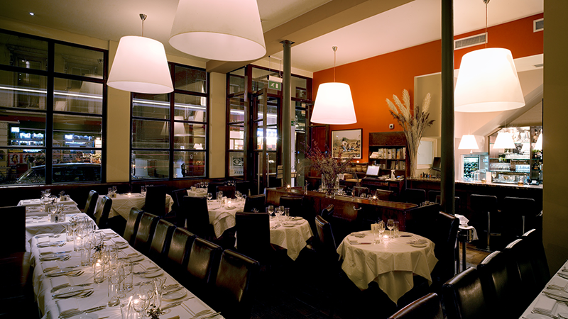 The Frontline Club restaurant